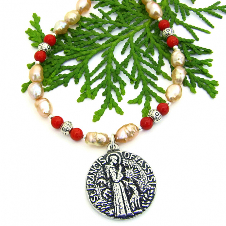St Francis necklace