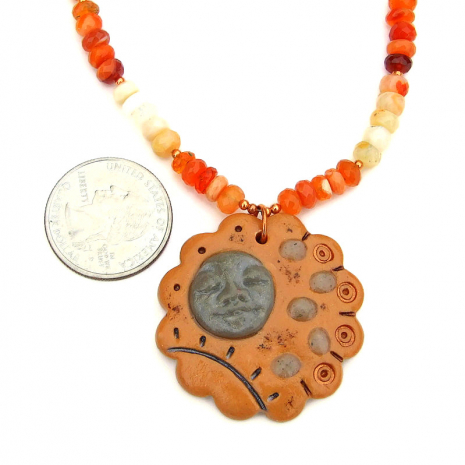 stepping stone jewelry with mexican fire opal gemstones