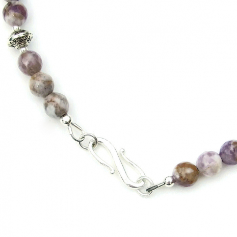 Sterling silver s-clasp