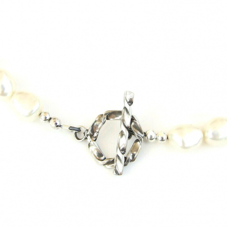 sterling silver toggle clasp set