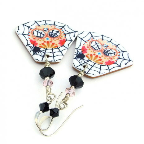 halloween sugar skull jewelry