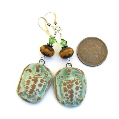 tortugas turtle jewelry gift for her