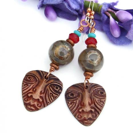 ethnic earrings for her