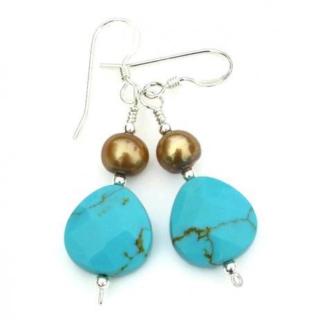 Handmade turquoise jewelry