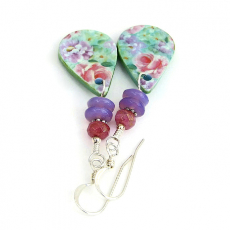 flower garden jewelry gift idea