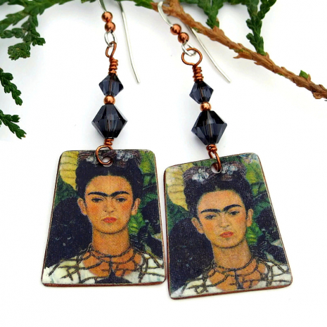 unique frida kahlo jewelry gift for her