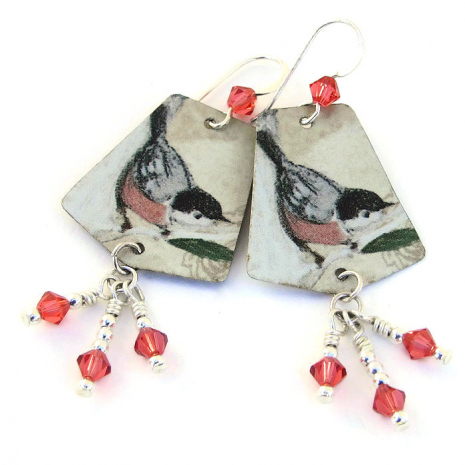 nuthatch bird jewelry for women