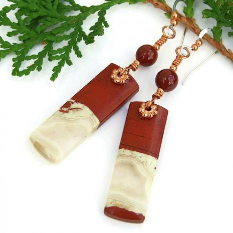 red river jasper jewelry