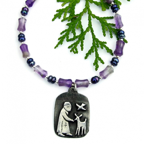 st francis jewelry gift for her