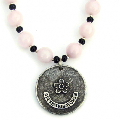 virgin mary catholic jewelry gift for women