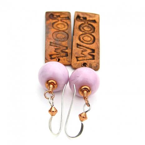 Earrings for a dog lover.