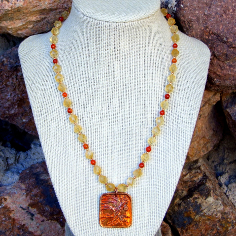 yggadrasil necklace for her