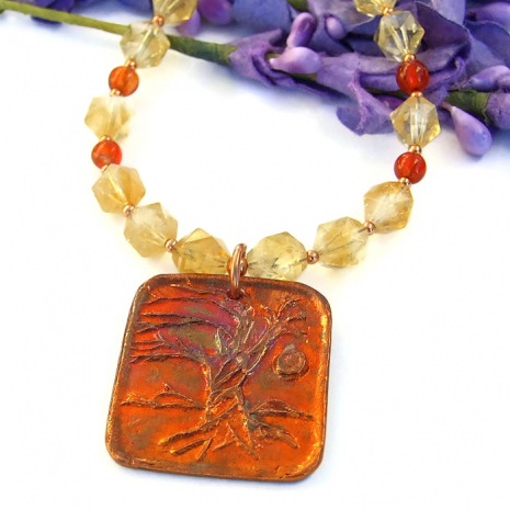 tree of life yggdrasil world tree jewelry for her