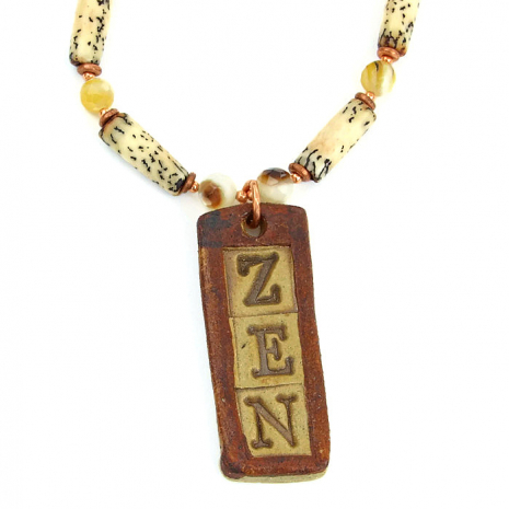 zen necklace jewelry for her.