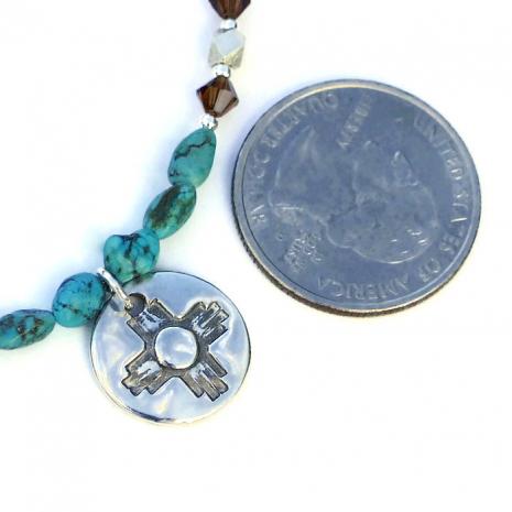Southwest Zia necklace.