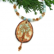 Tree of Life necklace.