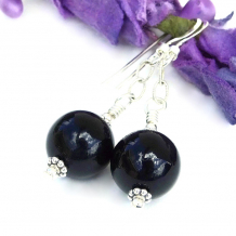 Black onyx and sterling silver jewelry