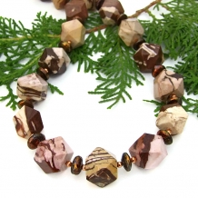 Gemstone necklace - gift idea.