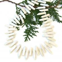 Pearl wedding jewelry.