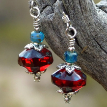 ruby red jewelry for women