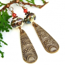 Marrakech Marrakesh dangle earrings