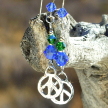 peace sign jewelry gift for women