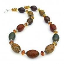red creek jasper gemstone jewelry