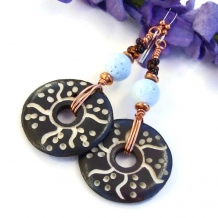 Boho earrings for women.