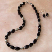 EYE SEE YOU - Black Onyx Evil Eye Sterling Handmade Necklace