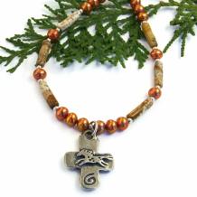 SOLD - Artisan Handmade Religious Jewelry - Shadow Dog Designs